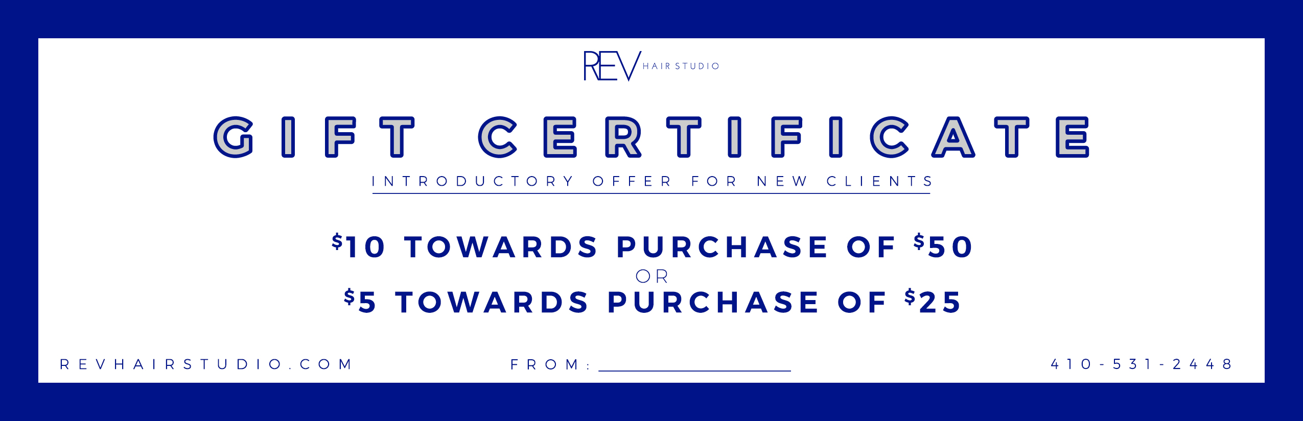 Gift Certificate - General